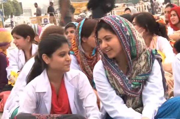 Young Doctors Association on Strike against MTI Act