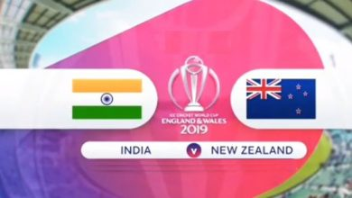 ICC World Cup 2019 India VS New Zealand