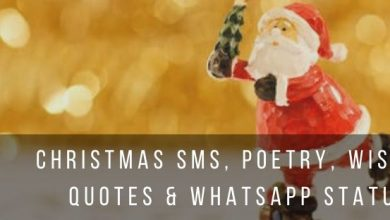 Christmas Wishes and WhatsApp Status