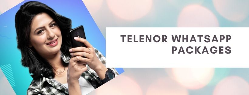 WhatsApp daily, weekly and monthly offers by Telenor