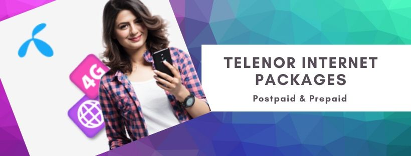 Telenor daily, weekly, monthly data plans