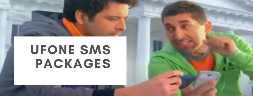 Ufone daily, weekly and monthly SMS plans