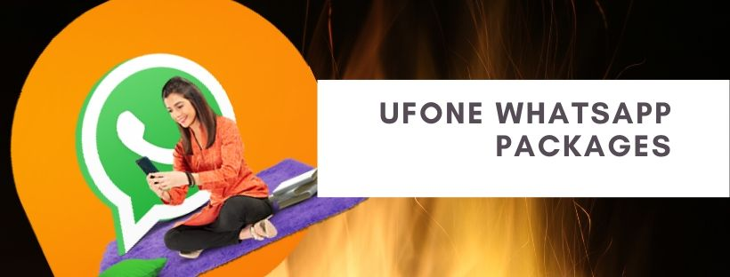 WhatsApp daily, weekly and monthly plans by Ufone