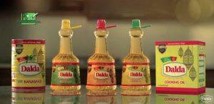 Dalda banaspati and cooking oil