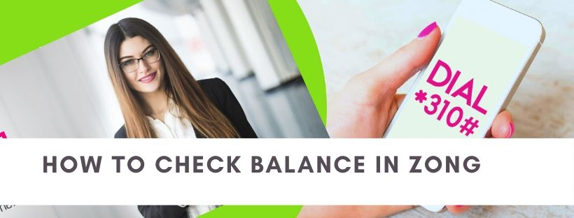 Methods to check Zong credit