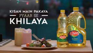 Kisan banaspati and cooking oil