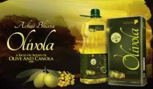 Olivola banaspati and cooking oil
