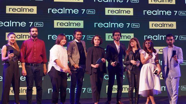 Realme 7 Pro inauguration